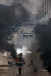 Clashes between pro-Morsi and police